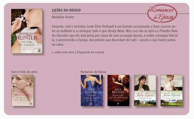 Romances de época- Editora Arqueiro
