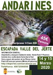 APLAZADO ANDARINES 2020 Jerte