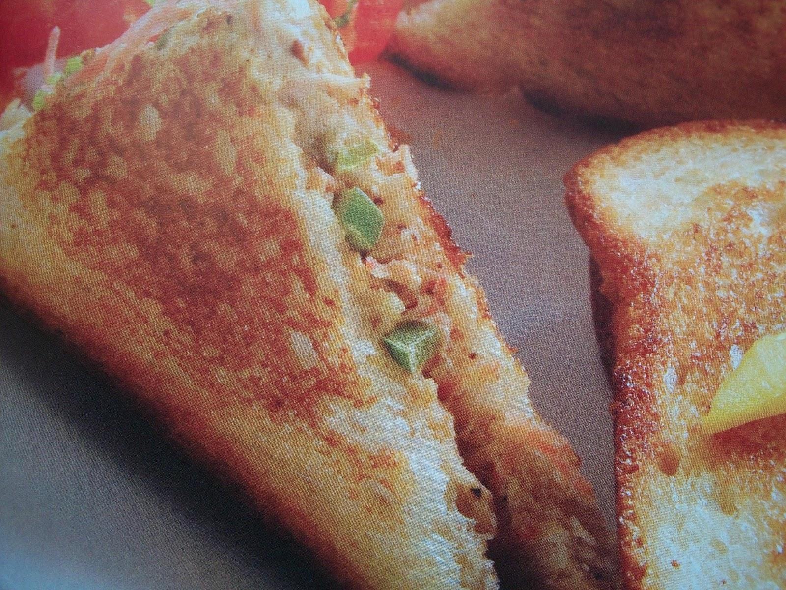 Quick Veggie Sandwich