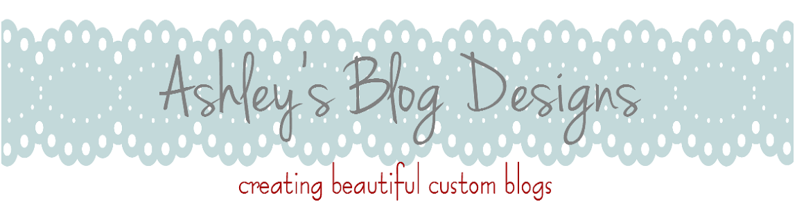 Ashley's Blog Designs
