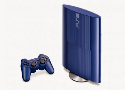 ps3 super slim blu in piedi