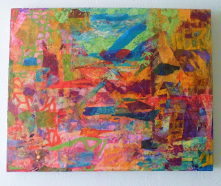 Untitled Mixed media and oil 2013