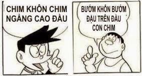 Bài thơ chế bá đạo Nobita và Chaien