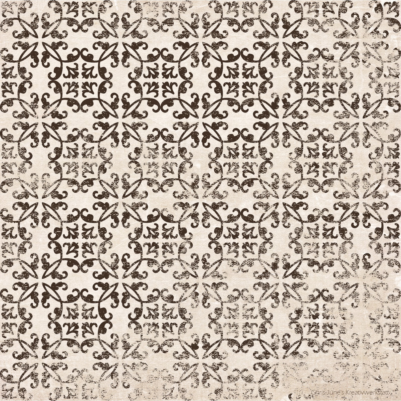 Ornament-Font-Muster, Textur: kk-flow