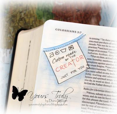 Diana Nguyen, illustrated faith, Bible Journaling