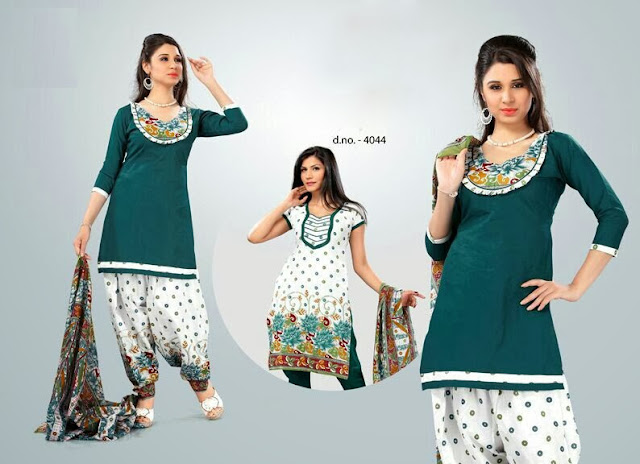 Printed Cotton Dress Materials, Dress Material , Buy Cotton Dress Materials Online, Patiala salwar Suits