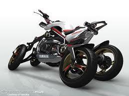 มอเตอร์ไซค์ สี่ล้อ Yamaha FOUR wheeled bike Tesseract