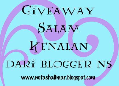 """Salam Kenalan Dari Blogger NotaShalimar"""