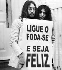 ligar o foda-se, ligue o botão do foda-se, 3 palavrinhas mágicas, obrigada, por favor e foda-se, John Lennon, foto beatles, três palavras mágicas, Fabrício Carpinejar