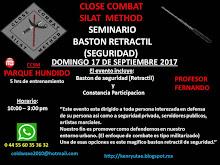 Seminario Baston Retractil (Seguridad)
