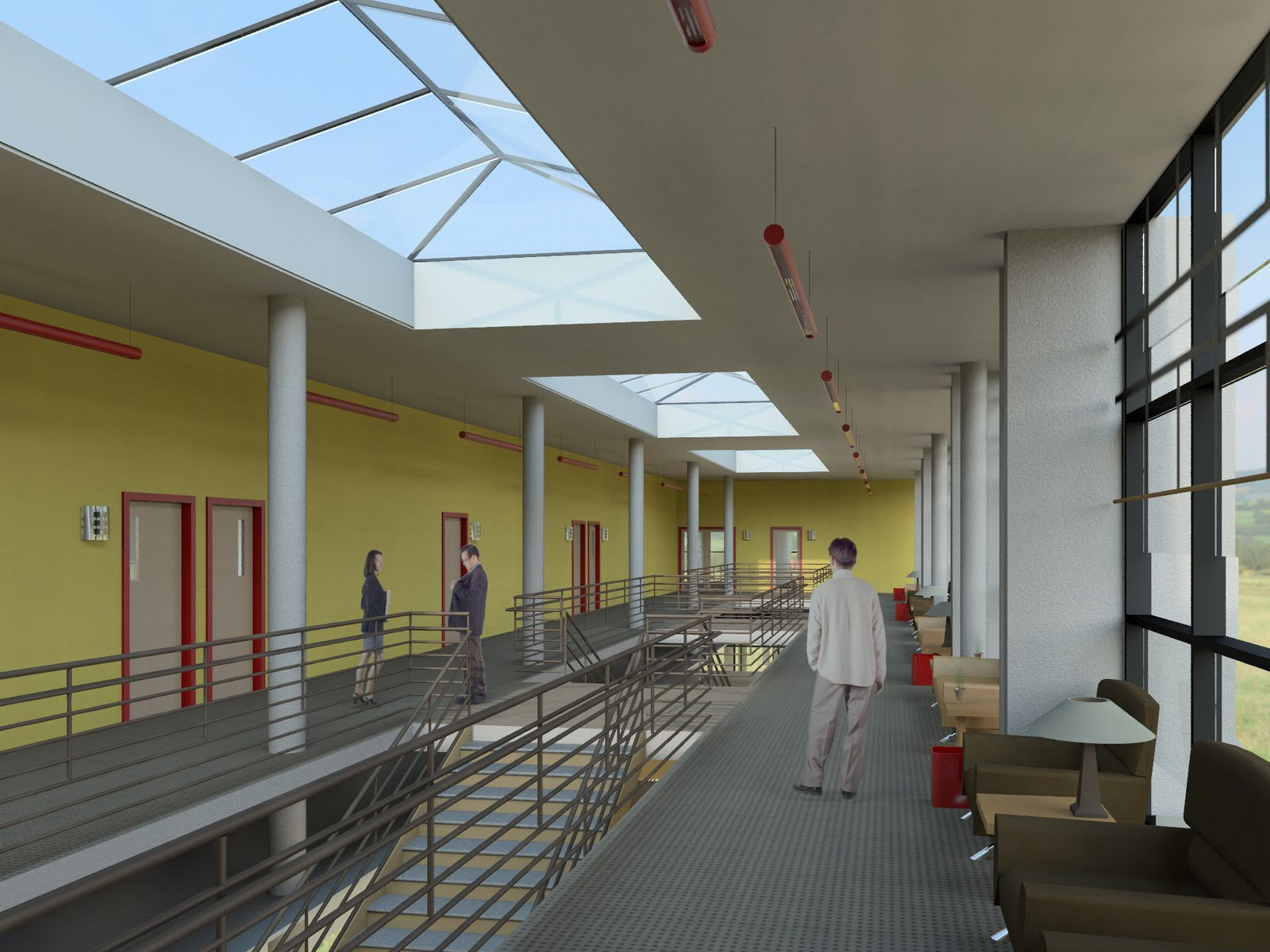Revit Interior Rendering