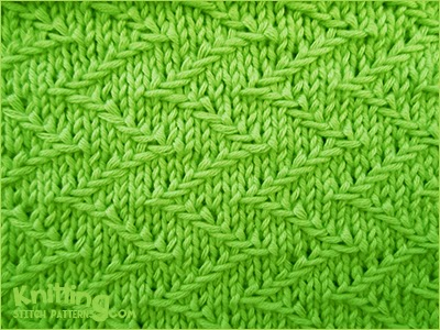 Jacquard Knitting Patterns : Jacquard 2 Knitting Stitch Patterns