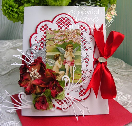 valentine's vintage cherubs with petaloo front