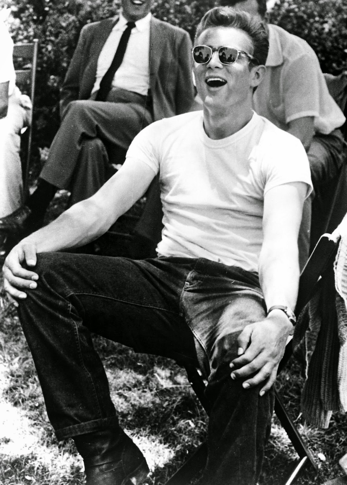 James Dean Rebel Without A Cause James Dean wore his t-shirt