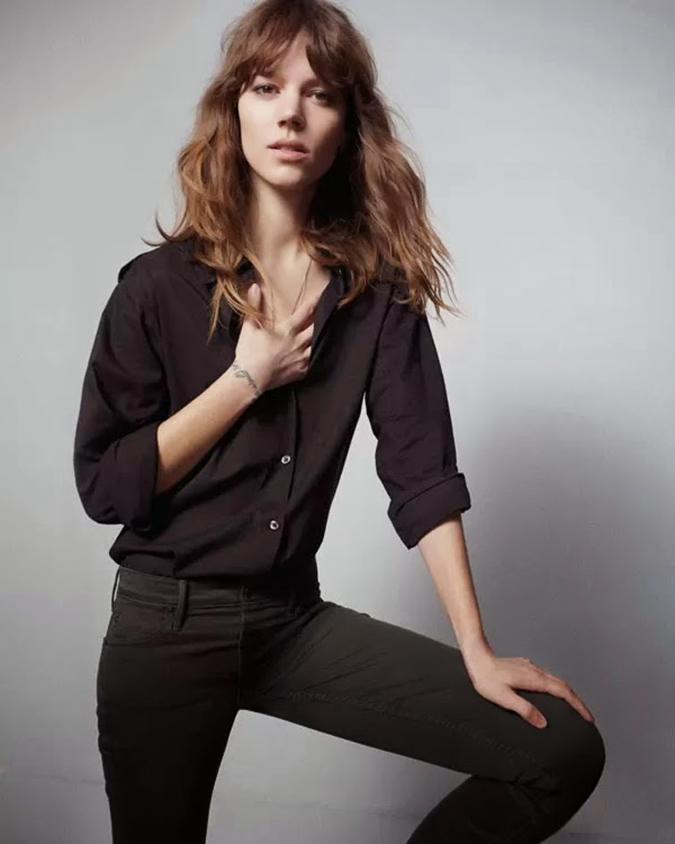 Freja Beha Erichsen for Mother denim