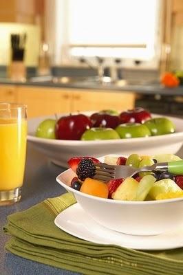 Desayuna con una ensalada de frutas