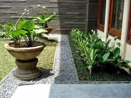 Model desain taman rumah minimalis