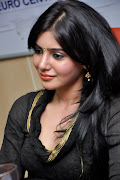 telugu cinema: Samantha in Black Dress photos