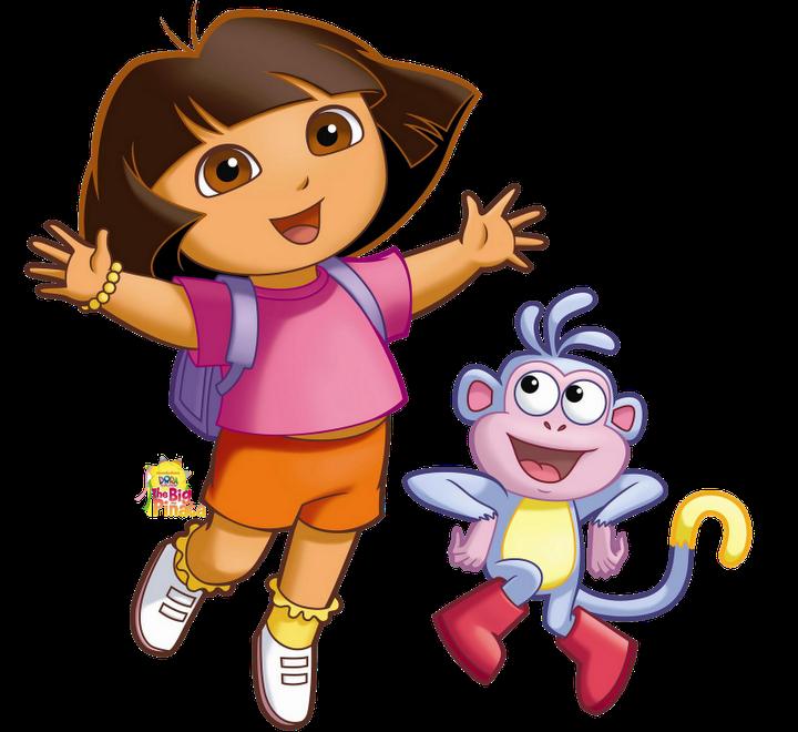 Cartoon Characters Png : Cartoon characters dora the explorer png photos