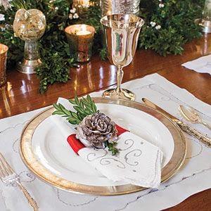 Decoração de Natal - mesa