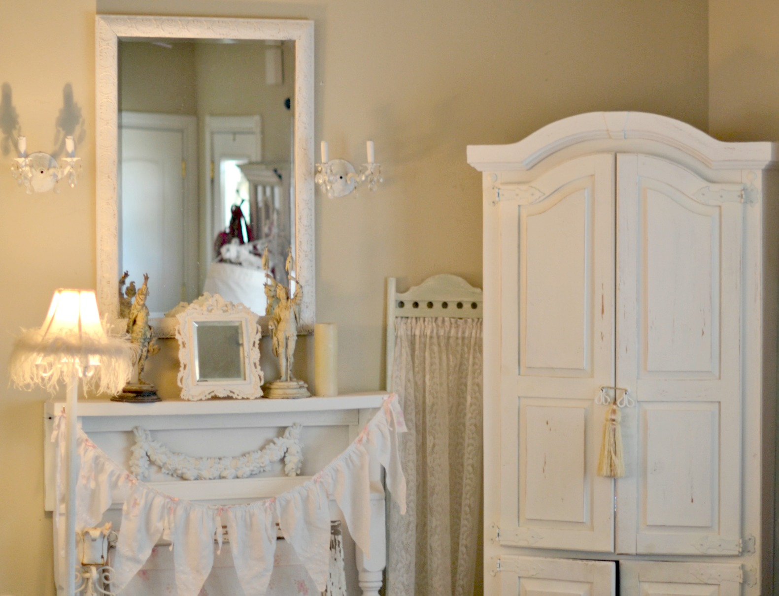 Olivia's Romantic Home: Shabby Chic Painting Furniture Step by Step