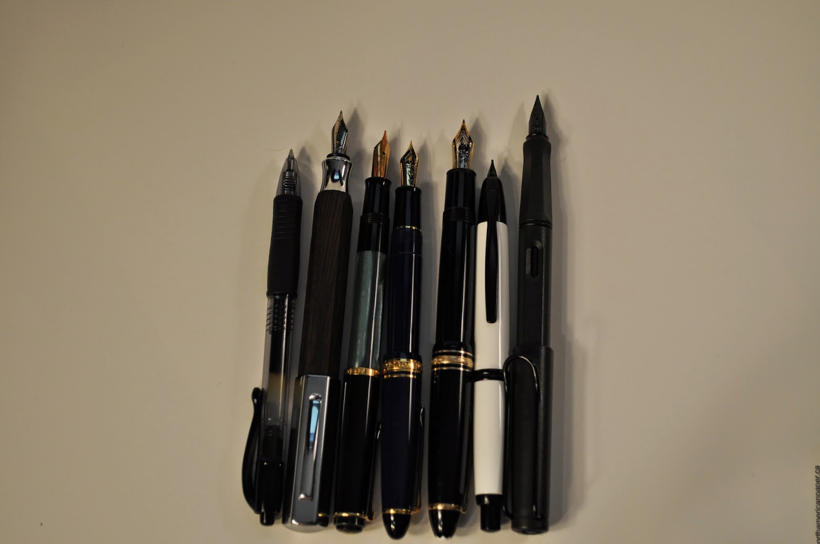 Pilot Vanishing Point Size Comparison