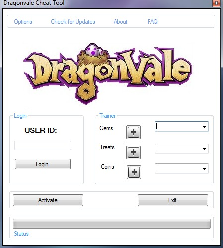 dragon vale, hack cheat, trainer,