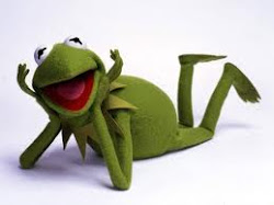 La reportera más dichararera, la rana Gustavo.
