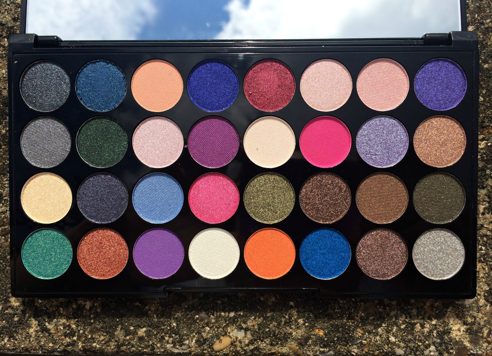Make-Up-Revolution-Eyes-Like-Angels-Palette-Review