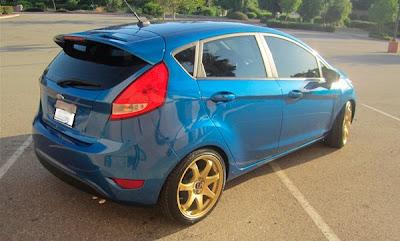 New Fiesta + rodas Subaru