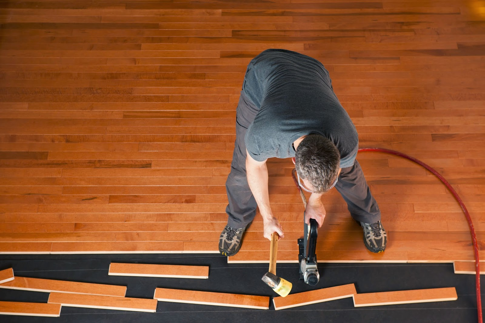 One Of The Most Complicated Yet Rewarding Home Improvement Projects Is  Finishing A Hardwood Floor. A Newly Finished Hardwood ...