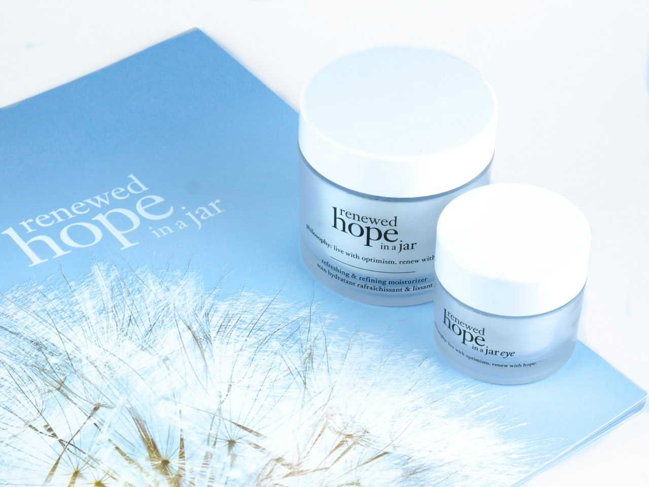 Philosophy Renewed Hope in a Jar Moisturizer & Eye Cream: Review