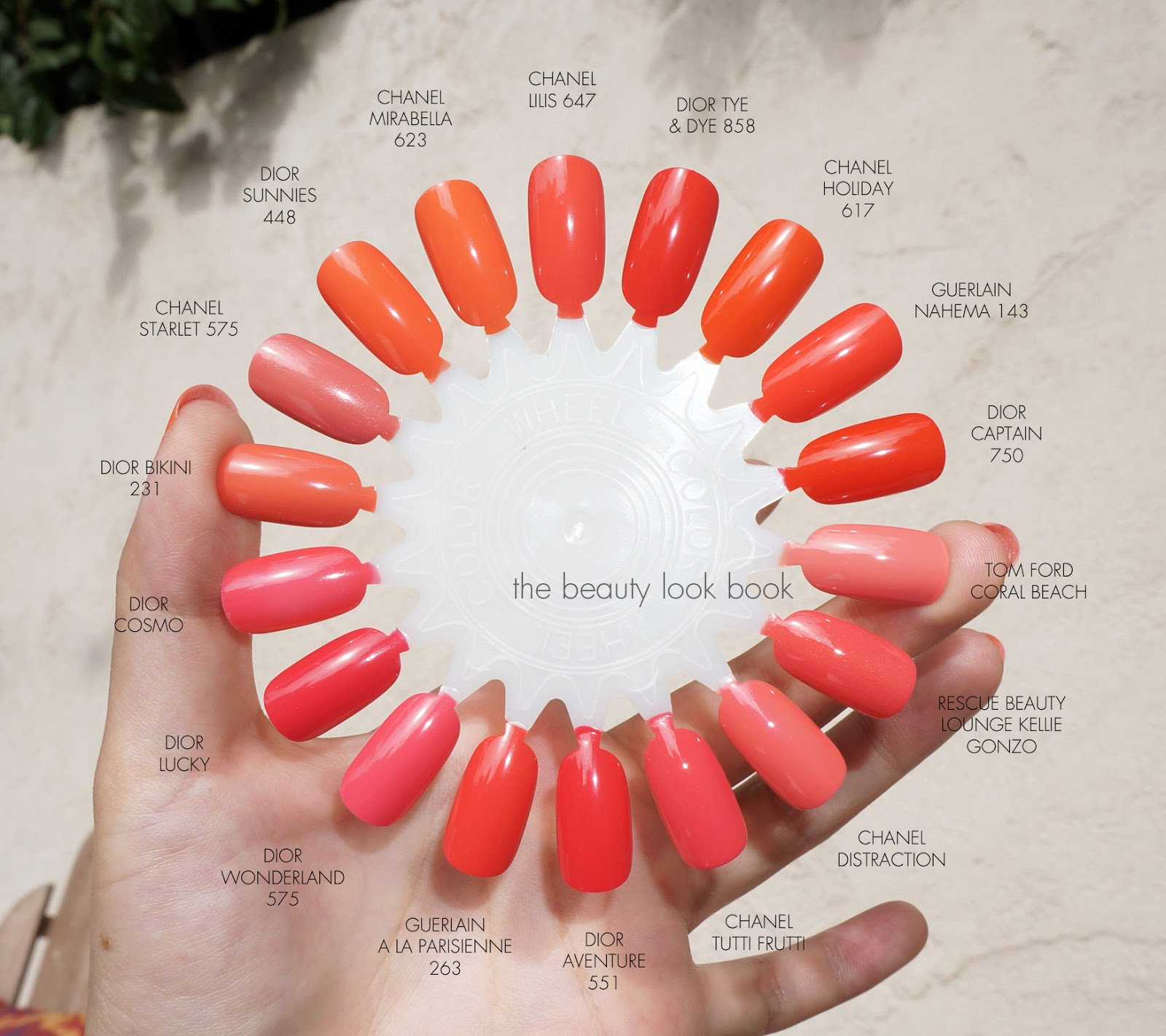 Tutti Frutti Nails: The Beauty Look Book: Chanel Tutti Frutti 621 And