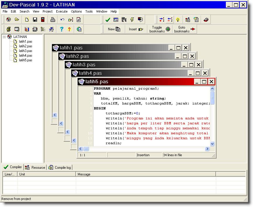 Télécharger Dev-Pascal pour Windows : téléchargement gratuit