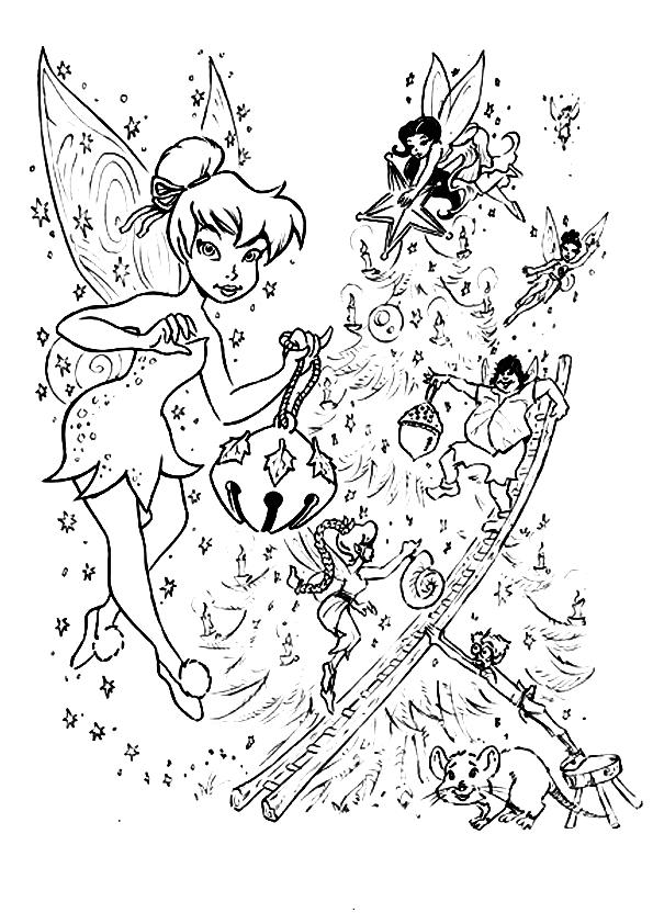 Dibujos De Tinkerbell Y El Secreto De Las Hadas Para ...