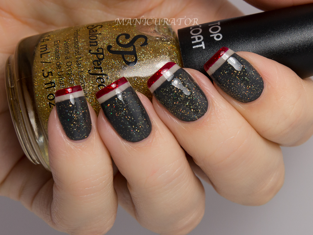 manicurator: Salon Perfect Nail It! Holiday Exclusive Swatch and Review