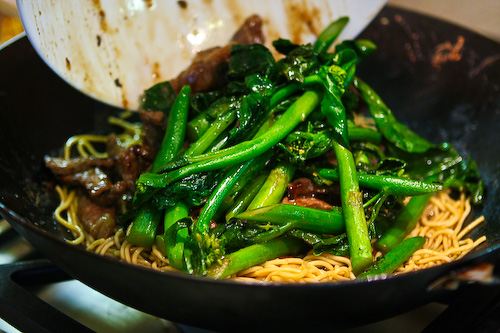 Joy of Giving: Chinese Broccoli Beef Noodle Stir Fry