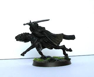 Władca Pierścieni czarni jeźdźcy