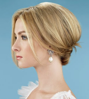 wedding short hairstyles for long hiar with veil half up