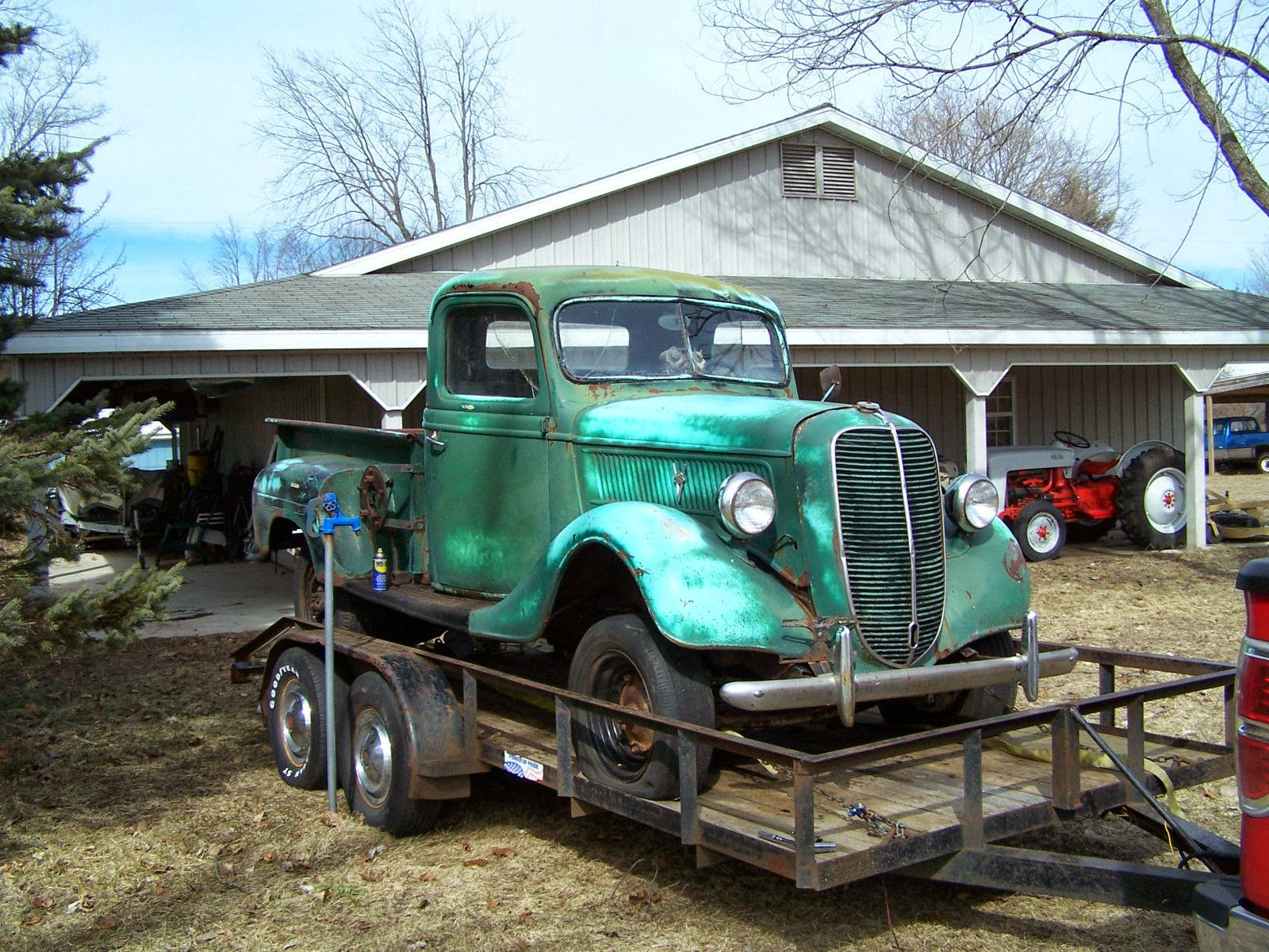 SAP: 1937 Ford Pickup for Sale