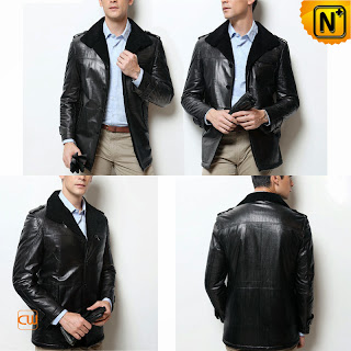 Men Sheepskin Jacket