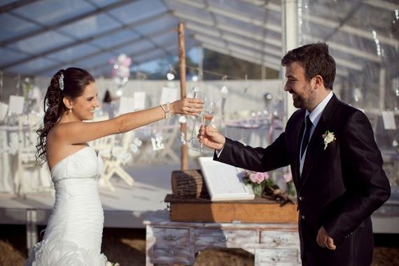 Real brides Heart Shaped Petals