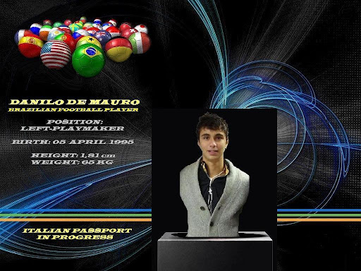 DANILO DE MAURO - Brazilian Football Player - Position: Left-Playmaker