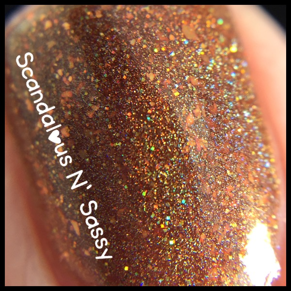Darling Diva Polish Let the Wookie Win macro