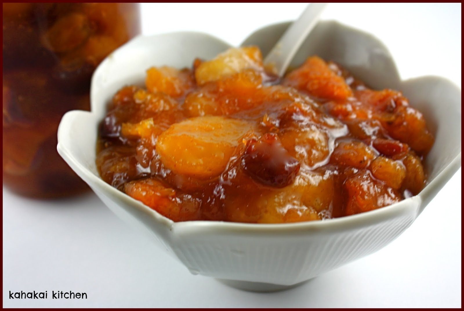 Kahakai Kitchen: Apple, Peach and Apricot Chutney: A Sweet-Sour-and ...