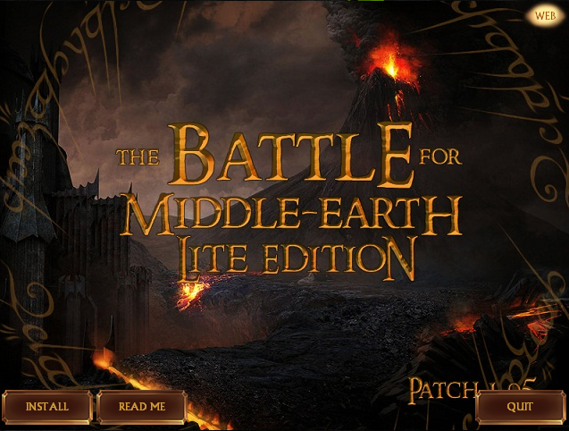 battle for middle earth 1 patch 1.03