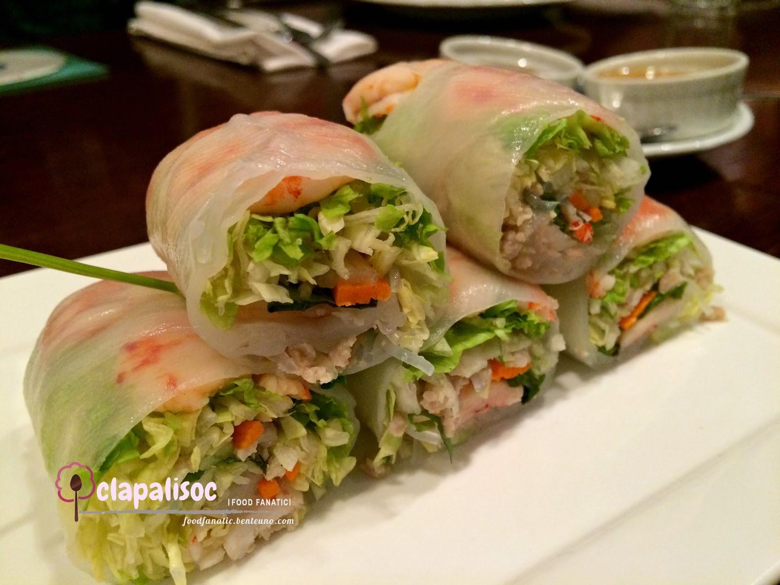 Attirant LJC Group Restaurant Fely Ju0027s Vietnamese Fresh Spring Rolls