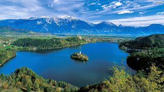 Lake Bled Desktop Wallpaper