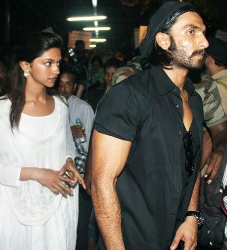 Ranveer Singh With Deepika Padukone HD Unseen Rare Pics