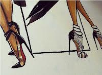 shoe illustration design footwear illustrator jerron couture